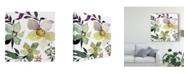 """Trademark Global Kristy Rice Hellebore Ya Doing III Canvas Art - 15"""" x 20"""""""