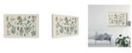 """Trademark Global Wild Apple Portfolio Victorian Garden IV Canvas Art - 20"""" x 25"""""""