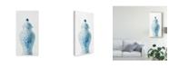 "Trademark Global Danhui Nai Ginger Jar I on White Crop Canvas Art - 37"" x 49"""