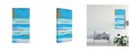 "Trademark Global Erin Ashley Blue Jam I Canvas Art - 20"" x 25"""