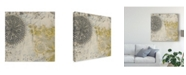 "Trademark Global June Erica Vess Coastal Cameo IX Canvas Art - 15"" x 20"""