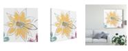 "Trademark Global June Erica Vess Happy Sentiments I Canvas Art - 27"" x 33"""