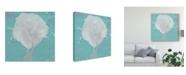 "Trademark Global Studio W Graphic Sea Fan II Canvas Art - 27"" x 33"""