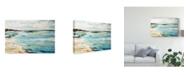 """Trademark Global Karen Fields Beach Surf III Canvas Art - 20"""" x 25"""""""