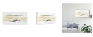 "Trademark Global June Erica Vess Neutral Geology I Canvas Art - 37"" x 49"""