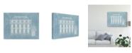 "Trademark Global Vision Studio Architecture Francaise II Canvas Art - 37"" x 49"""