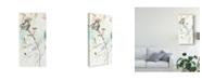 "Trademark Global Jennifer Goldberger Wildflower Breath I Canvas Art - 20"" x 25"""