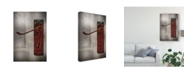 "Trademark Global Christine Sainte-Laudy Scalloped Door Canvas Art - 20"" x 25"""