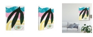 "Trademark Global Renee W. Stramel South Beach IV Canvas Art - 15"" x 20"""