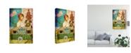 "Trademark Global Sandy Lloyd Never Tied Down Canvas Art - 20"" x 25"""