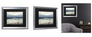 "Trademark Global Masters Fine Art Low Tide Matted Framed Art - 27"" x 33"""
