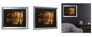 "Trademark Global Philippe Sainte-Laudy Morning Light Matted Framed Art - 27"" x 33"""