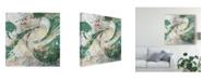 """Trademark Global Jennifer Goldberger Emerald Aerial Canvas Art - 15"""" x 20"""""""
