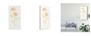 "Trademark Global June Erica Vess Bouquet Blush VII Canvas Art - 20"" x 25"""
