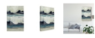 "Trademark Global Jennifer Goldberger Peaceful Mountain I Canvas Art - 15"" x 20"""