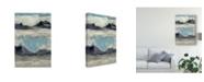 "Trademark Global Jennifer Goldberger Peaceful Mountain III Canvas Art - 20"" x 25"""