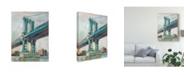"Trademark Global Ethan Harper Contemporary Bridge I Canvas Art - 20"" x 25"""