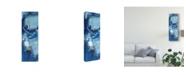 """Trademark Global Melissa Wang Composition Blue Canvas Art - 15"""" x 20"""""""