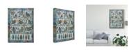 "Trademark Global Sue Davis Summer Songs Canvas Art - 20"" x 25"""