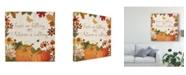 "Trademark Global Katie Pertiet Fall Garden III Canvas Art - 20"" x 25"""