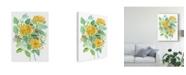 """Trademark Global Melissa Wang Joyful Movement II Canvas Art - 20"""" x 25"""""""