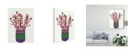 "Trademark Global Regina Moore Cheerful Succulent II Canvas Art - 37"" x 49"""
