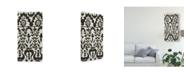 "Trademark Global Chariklia Zarris Flamenco Pattern II Canvas Art - 20"" x 25"""