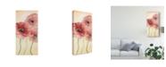 "Trademark Global Natasha Chabot Poppy Composition I Canvas Art - 20"" x 25"""