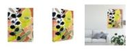 "Trademark Global Jennifer Goldberger Tropic Fun II Canvas Art - 20"" x 25"""