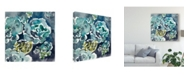 """Trademark Global Chariklia Zarris Danube I Canvas Art - 27"""" x 33"""""""
