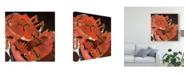 "Trademark Global Erin Mcgee Ferrell Abstract Lobster V Canvas Art - 15"" x 20"""