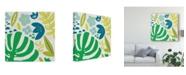 "Trademark Global Chariklia Zarris Ollie II Canvas Art - 15"" x 20"""