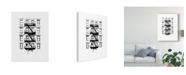 """Trademark Global Jeff Pica NYC in Pure B&W XII Canvas Art - 15"""" x 20"""""""