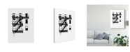 """Trademark Global Jeff Pica NYC in Pure B&W XIV Canvas Art - 20"""" x 25"""""""