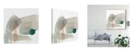 "Trademark Global Jennifer Goldberger Earthy Gestures IV Canvas Art - 15"" x 20"""