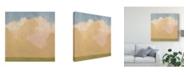 "Trademark Global Emma Scarvey Evening Plane I Canvas Art - 20"" x 25"""