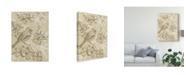 "Trademark Global Chariklia Zarris Springs Song I Canvas Art - 20"" x 25"""
