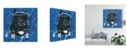 "Trademark Global Jennifer Rutledge Dapper Animal III Canvas Art - 20"" x 25"""