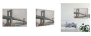 "Trademark Global Ethan Harper Spanning the East River II Canvas Art - 15"" x 20"""