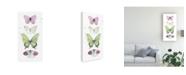 """Trademark Global Jennifer Paxton Parker Summer Butterflies II Canvas Art - 20"""" x 25"""""""