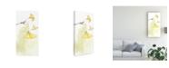 "Trademark Global Jennifer Goldberger Ginkgo Triptych III Canvas Art - 20"" x 25"""