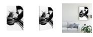 "Trademark Global Sharon Chandler Your Move on White VI Canvas Art - 20"" x 25"""