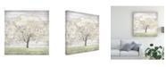 "Trademark Global June Erica Vess Barn Tree II Canvas Art - 15"" x 20"""