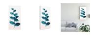 "Trademark Global June Erica Vess Stems in Indigo III Canvas Art - 15"" x 20"""