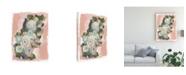 """Trademark Global June Erica Vess Blossom Cascade II Canvas Art - 15"""" x 20"""""""