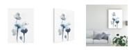 "Trademark Global June Erica Vess Midnight Blossoms IV Canvas Art - 15"" x 20"""