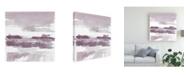 "Trademark Global Mike Schick Amethyst Wetlands Canvas Art - 15"" x 20"""