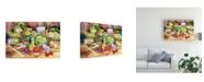 """Trademark Global Kathleen Parr Mckenna Garden Salad Canvas Art - 15"""" x 20"""""""