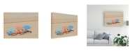 "Trademark Global Sally Linden Umbrellas III Canvas Art - 20"" x 25"""