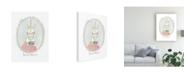 "Trademark Global June Erica Vess Caffeinated Cutie I Canvas Art - 20"" x 25"""